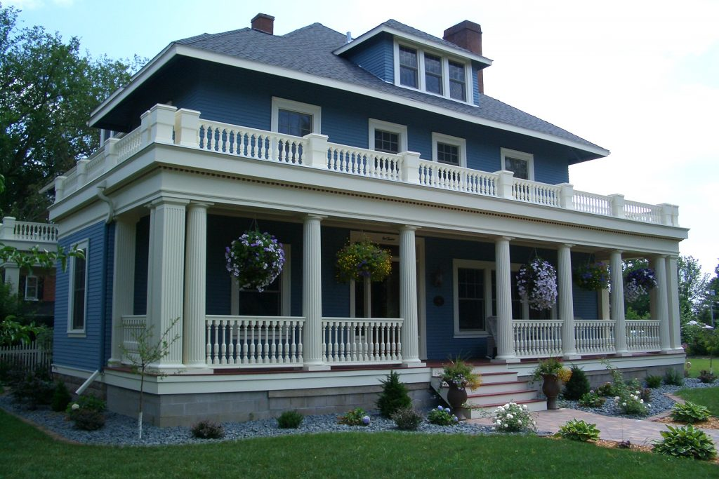 Spectis mouldings, balustrade systems, columns and porch posts, architectural detailing, architectural products