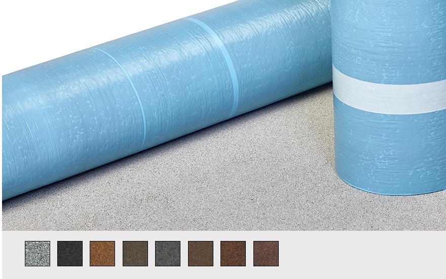 premium, self-adhering SBS modified bitumen roofing material