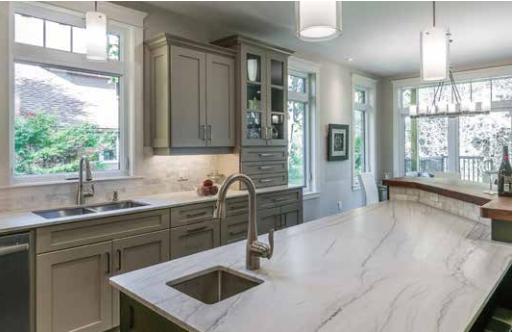 Northstar windows installed in a luxury kitchen