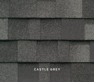 Dynasty Castle Grey roofing shingles, roofing materials, double-layer laminate shingles, buy shingles