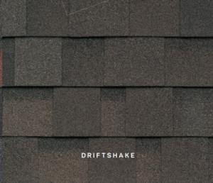 Dynasty Driftshake roofing shingles, roofing materials, double-layer laminate shingles, buy shingles