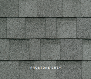 Dynasty Frostone Grey roofing shingles, roofing materials, double-layer laminate shingles, buy shingles