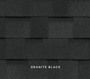 Dynasty Granite Black roofing shingles, roofing materials, double-layer laminate shingles, buy shingles