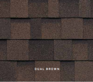Dual Brown Cambridge roofing shingles, roofing materials, double-layer laminate shingles, buy shingles