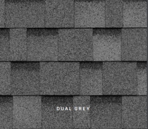 Dual Grey Cambridge roofing shingles, roofing materials, double-layer laminate shingles, buy shingles