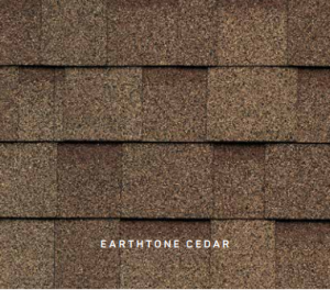 Earthtone Cedar Cambridge roofing shingles, roofing materials, double-layer laminate shingles, buy shingles