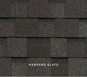 Harvard Slate Cambridge roofing shingles, roofing materials, double-layer laminate shingles, buy shingles
