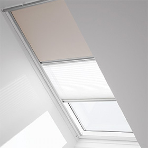 Velux Duo skylight blinds and accessories