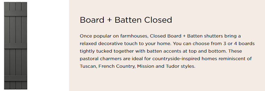 napco board and batten