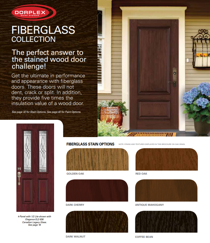 dorplex fiberglass collection