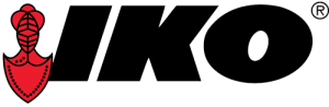 IKO logo red crest