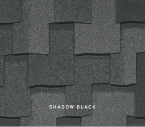 Armourshake Shadow Black roofing shingles, roofing materials, double-layer laminate shingles, buy shingles