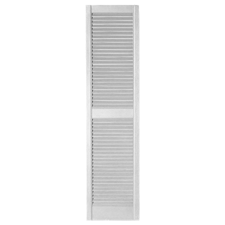 Napco Shutter with open louvered features