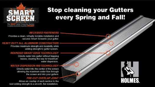 stop cleaning your gutters every spring and fall