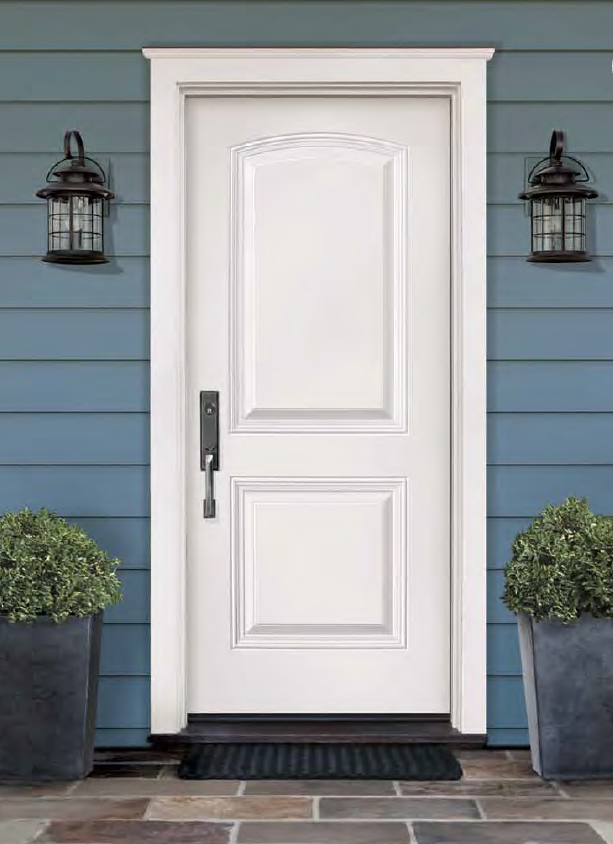 energy efficient front steel door by northstar