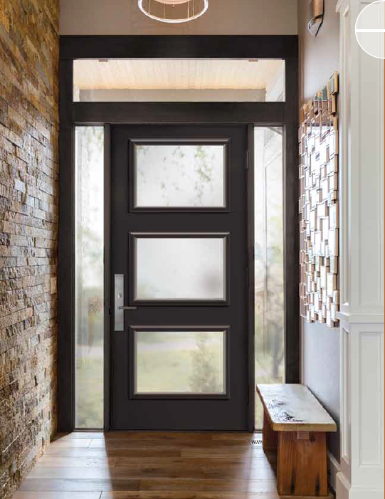 Steel front door by northstar