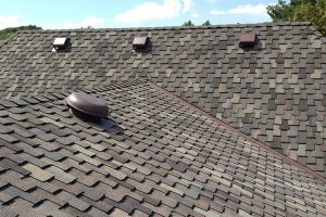 roof shingles and roof vents
