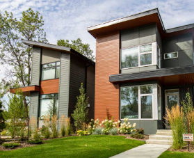 Lux Townhomes Modern