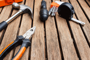 building supplies and tools