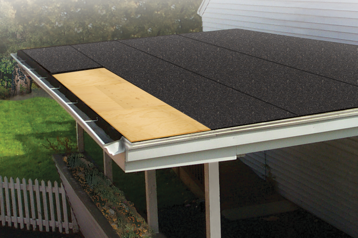 Black Shingles, roofing material , low slope roofing