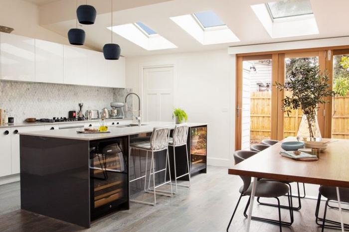professionally installed velux skylights